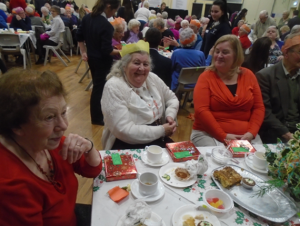 Local Community Christmas tea - December 2015